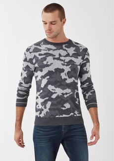 Splendid Saddleback Jacquard Camo Sweater