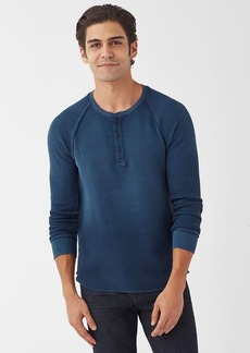 Splendid Salt Point Waffle Knit Henley