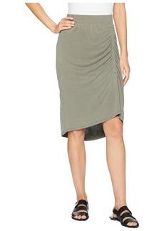 Splendid Sandwash Jersey Slit Skirt