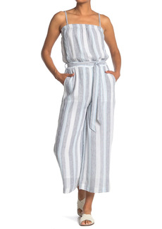 Splendid Sea Stripe Print Jumpsuit