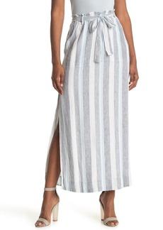 Splendid Sea Stripe Print Skirt