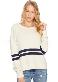Splendid Seabrook Rugby Stripe Sweatshirt