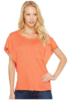 Splendid Short Sleeve Ruffle Top