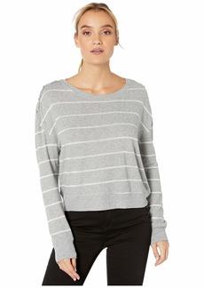 Splendid Shoulder Placket PJ Sweater