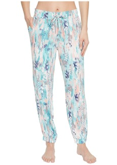 Splendid Slim Leg Woven Lounge Pants