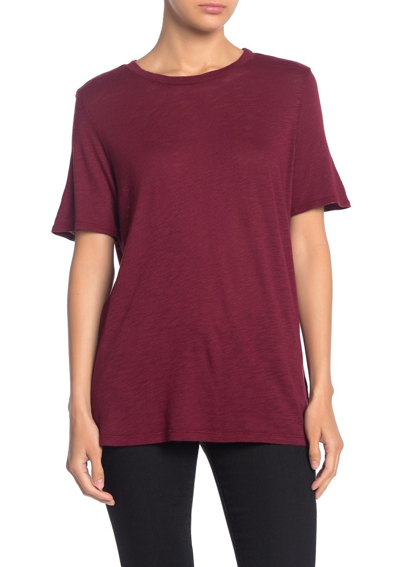Splendid Slub Knit Crew Neck T-Shirt