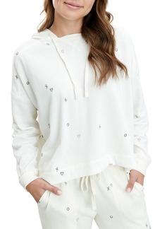 Splendid Snowland Embroidered Fleece Hoodie