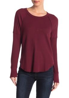 Splendid Solid Long Sleeve Thermal Shirt