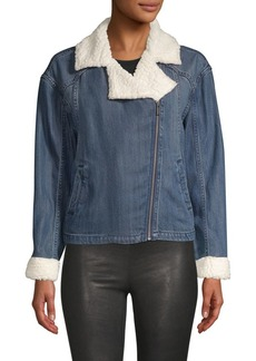 Splendid Sparrow Sherpa Crop Jacket