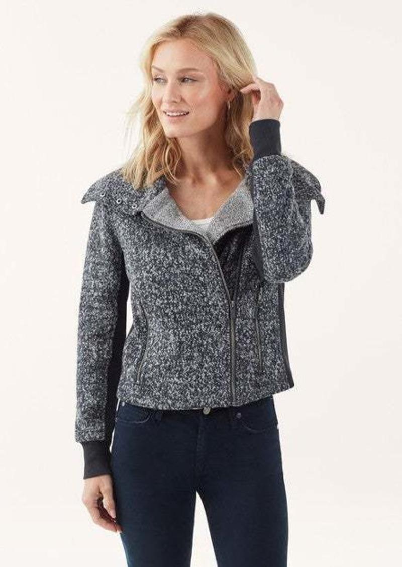 Splendid Speckled Wool Terry Jacket