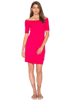 Splendid 2x1 Rib Bodycon Dress