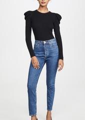 Splendid Allston Puff Sleeve Pullover