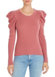 Splendid Allston Puff-Sleeve Sweater