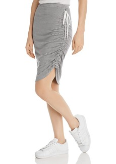 29dbe3f4582c Splendid Splendid x Margherita Tie-Front Striped Sarong Skirt