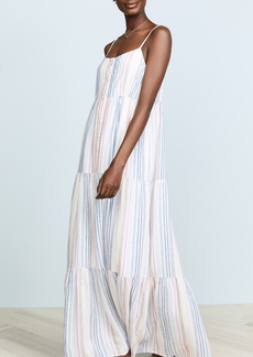 Splendid Arco Iris Stripe Dress