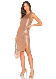 Splendid Astor Dress in Metallic Copper. - size XS (also in M,S)