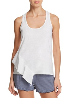 Splendid Asymmetric Ruffle Sleep Tank
