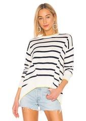 Splendid Avery Stripe Cashmere Blend Sweater