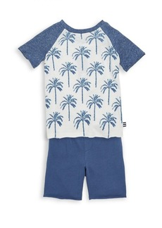 Splendid Baby's, Toddler's & Little Boy's Two Piece Raglan Tee & Shorts Set