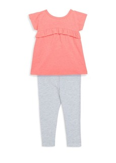 Splendid Baby's, Toddler's & Little Girl's Two-Piece Flounce Top and Pants Set