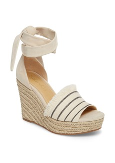 Splendid Barke Fringed Platform Wedge Sandal (Women)