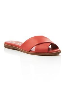 Splendid Baron Criss Cross Slide Sandals