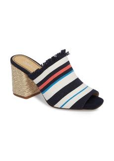 Splendid Baron Fringed Block Heel Slide (Women)