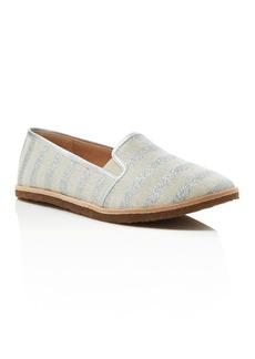 Splendid Beatrix Metallic Stripe Slip On Flats
