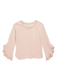 Splendid Bell Sleeve Sweatshirt (Big Girls)