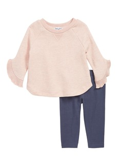 Splendid Bell Sleeve Top & Leggings Set (Baby Girls)