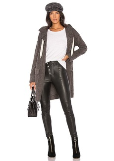 Splendid Bowery Coat in Charcoal. - size L (also in M,S,XS)