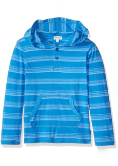 Splendid Boys' Little Boys' Long Sleeve Classic Stripe Hooded Top