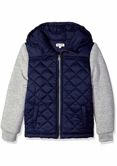 Splendid Boys' Toddler Jacket Puff with Hood