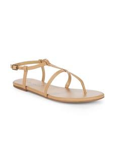 Splendid Brenda Leather Ankle-Strap Sandals