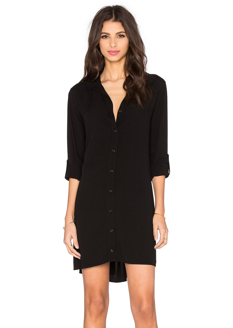 Splendid Button Down Shirt Dress