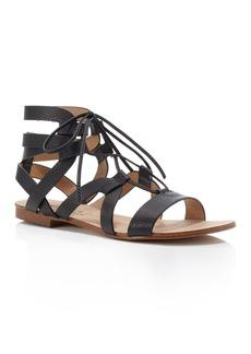 Splendid Cameron Gladiator Lace Up Flat Sandals