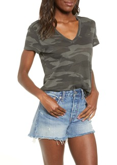 Splendid Camo Cotton Tee