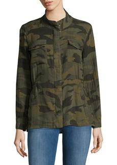 Splendid Camo Military Jacket