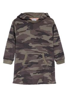 Splendid Camo Print Hooded Dress (Toddler Girls & Little Girls)