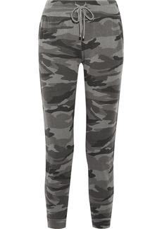 Splendid Camouflage-print terry track pants