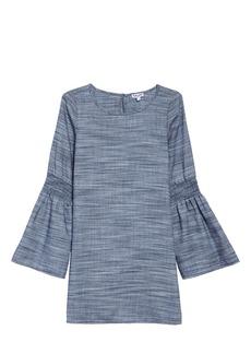 Splendid Chambray Bell Sleeve Dress (Big Girls)