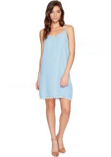 Splendid Chambray Crepe Slip Dress