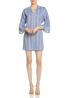 Splendid Chambray Jacquard Dress