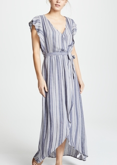 Splendid Chambray Striped Dress