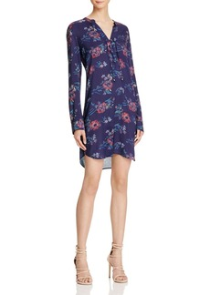 Splendid Cindelle Floral Print Shirt Dress