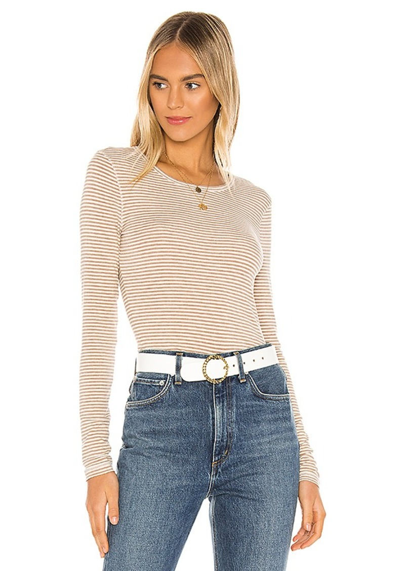 Splendid Classic Stripes Long Sleeve Tee