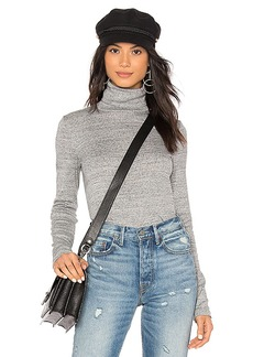 Splendid Classic Turtleneck Top