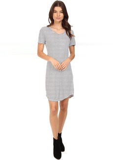 Splendid Codette Mini Rib T-Shirt Dress