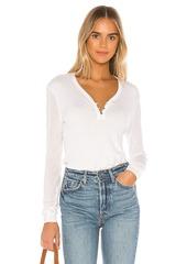 Splendid Collection Cashmere Blend Henley Sweater