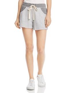 Splendid Color-Block Drawstring Shorts
